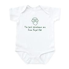 Royal Oak leprechauns Infant Bodysuit