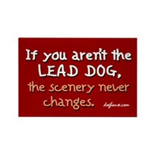 Lead Dog Alt. Rectangle Magnet