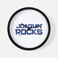 joaquin rocks Wall Clock