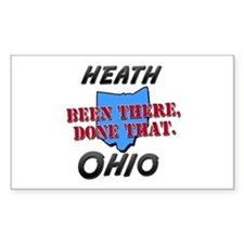 heath ohio - been there, done that Decal