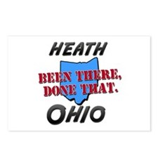 heath ohio - been there, done that Postcards (Pack