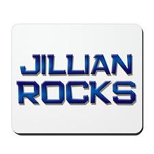 jillian rocks Mousepad