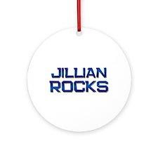 jillian rocks Ornament (Round)