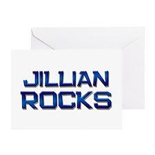 jillian rocks Greeting Card