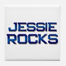 jessie rocks Tile Coaster