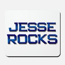 jesse rocks Mousepad