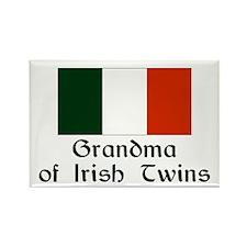 Irish Twins Grandma Rectangle Magnet