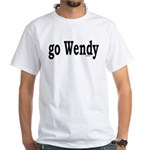 go Wendy White T-Shirt