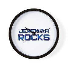 jeremiah rocks Wall Clock