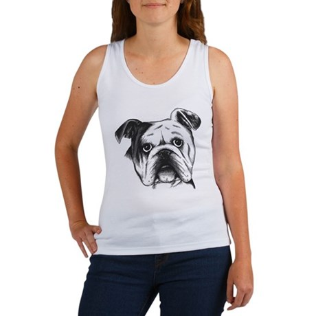 English Bulldog Women's Tank Top
