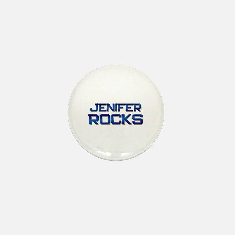 jenifer rocks Mini Button