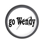 go Wendy Wall Clock