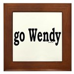 go Wendy Framed Tile