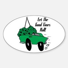 Classic Good Times Oval Decal