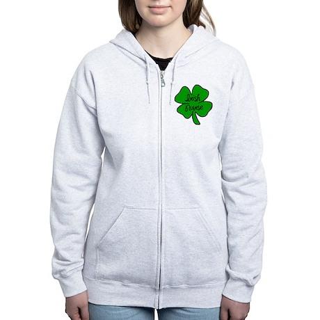 Irish Nurse Women's Zip Hoodie