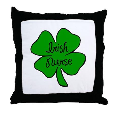 Irish Nurse Throw Pillow