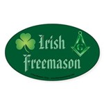 The Irishman Oval Sticker (50 pk)