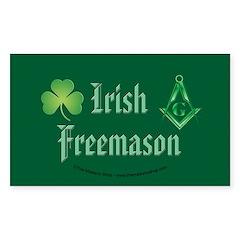 The Irishman Rectangle Decal