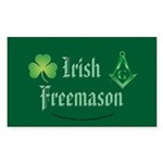 The Irishman Rectangle Sticker 10 pk)