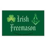 The Irishman Rectangle Sticker 50 pk)