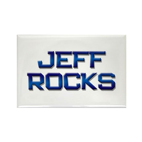jeff rocks Rectangle Magnet (10 pack)