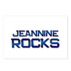 jeannine rocks Postcards (Package of 8)