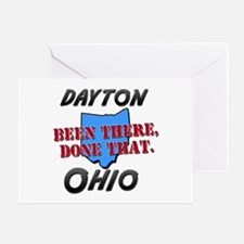 dayton ohio - been there, done that Greeting Card