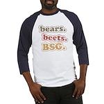 bears. beets. BSG. Baseball Jersey