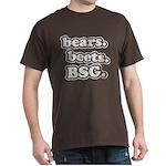 bears. beets. BSG. Dark T-Shirt