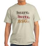 bears. beets. BSG. Light T-Shirt
