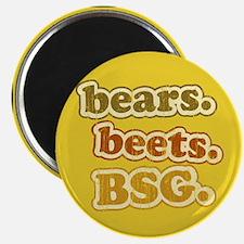 bears. beets. BSG. Magnet
