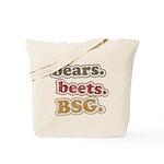 bears. beets. BSG. Tote Bag