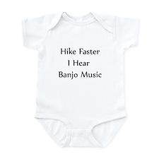 Hike Faster... Infant Bodysuit
