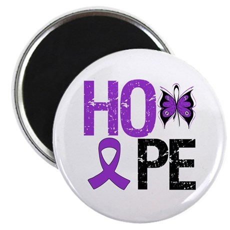 "Alzheimer's Disease Hope 2.25"" Magnet (100 pack)"