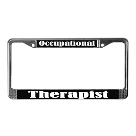 Cool Occupational Therapist License Frame