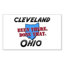 cleveland ohio - been there, done that Decal