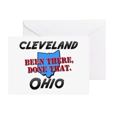 cleveland ohio - been there, done that Greeting Ca