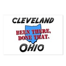 cleveland ohio - been there, done that Postcards (