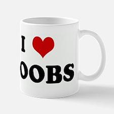 I Love BOOBS Mug