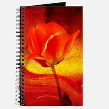 textured tulip Journal