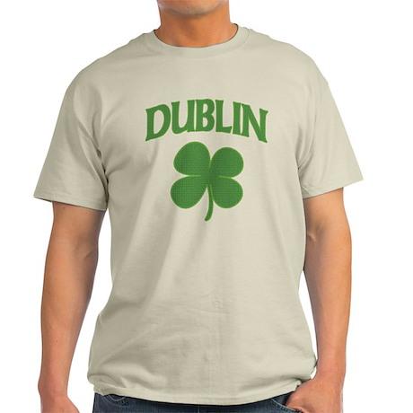 Dublin Irish Shamrock Light T-Shirt