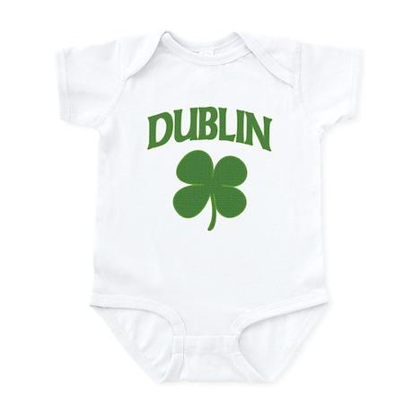 Dublin Irish Shamrock Infant Bodysuit