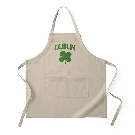 Dublin Irish Shamrock BBQ Apron