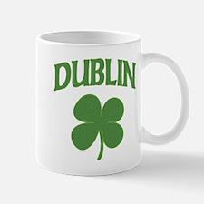 Dublin Irish Shamrock Mug