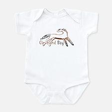 Cleveland Bay Horse Infant Bodysuit