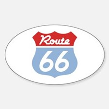 Route 66 -Diner Oval Decal