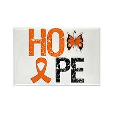 Kidney Cancer Hope Rectangle Magnet