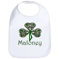 Maloney Shamrock Bib