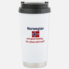 Good Looking Norwegian Thermos Mug