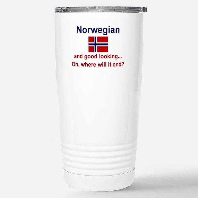 Good Looking Norwegian Thermos Mug